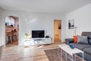 Beautifully furnished 2-room apartment in Munich Moosach