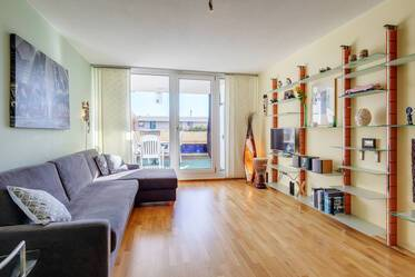 Furnished 1-room apartment in Munich Olympiadorf
