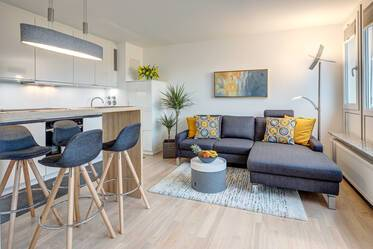 FIRST OCCUPANCY: Freshly renovated and newly furnished roof terrace apartment in Laim/Pasing
