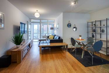 New construction from 2014: Modern, high-quality furnished apartment at the Westpark