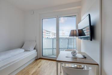 FIRST OCCUPANCY 2019: Newly furnished apartment in Messestadt Riem - For corporate clients only!