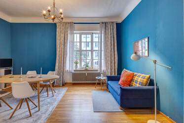 Nicely furnished 2-room apartment in Munich Maxvorstadt