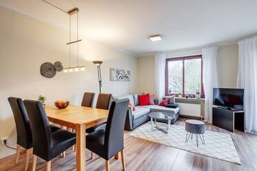 Generous 1.5-room apartment with balcony in Munich-Untergiesing