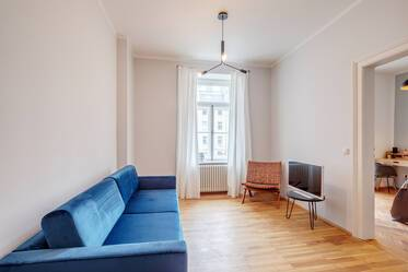 Nicely furnished 2-room apartment in Munich Glockenbachviertel