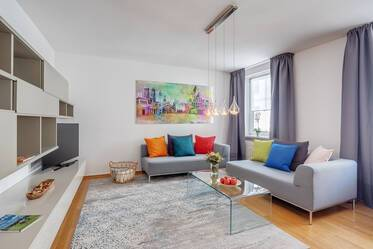 Nicely furnished 2-room apartment in Munich Lehel