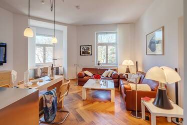 Beautifully furnished 3-room apartment in Munich Giesing