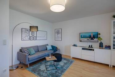 Newly furnished 2-room apartment, close to the Laimer Platz