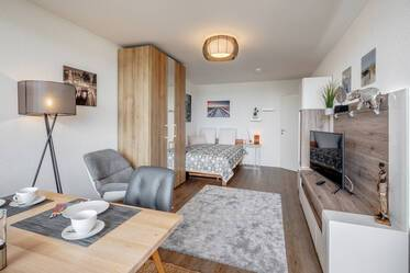 EVERYTHING IS NEW - First occupancy in renovated 1-room apartment in Munich-Laim