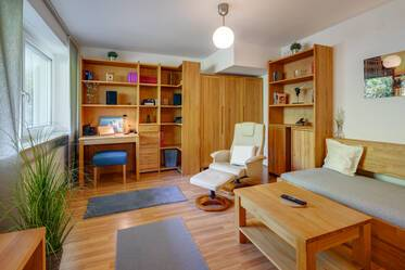 Nicely furnished 1.5-room apartment in Munich Schwabing