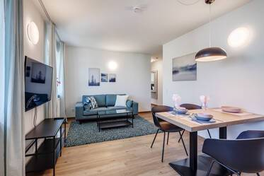 First occupancy: Modern 2-room apartment