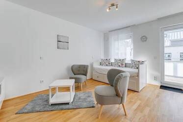 New construction 2019: 1-room apartment in Feldmoching