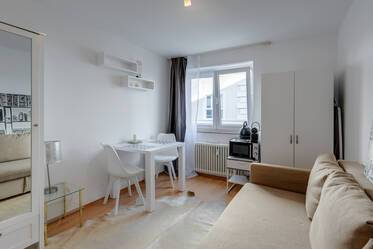 Attractively furnished studio  Maxvorstadt