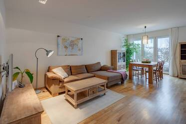 3.5-room maisonette apartment with parking