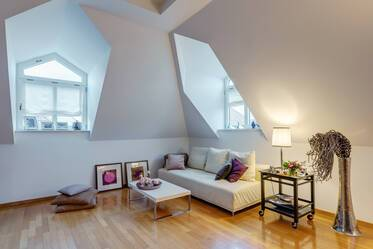 Exclusive, generous attic apartment