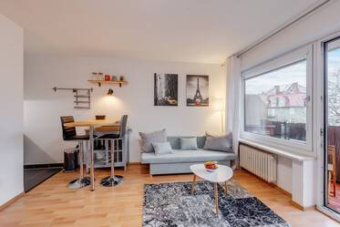 Central Neuhausen: fully furnished apartment