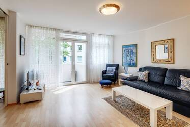 Very attractively furnished apartment in Neuhausen