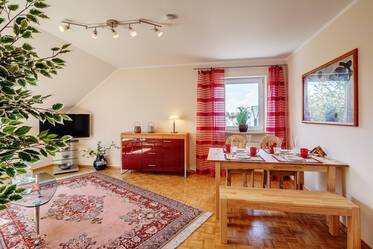 Lovely attic apartment in Perlach