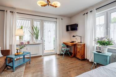 Fully furnished apartment in Moosach