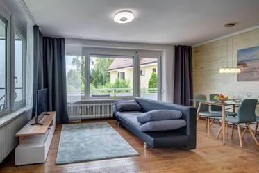 Newly furnished 1-room apartment in Obermenzing