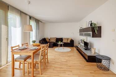 Nicely furnished apartment with garden 	  Messestadt Riem