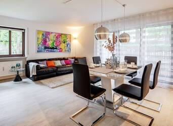 Exclusiv furnished apartment in Solln