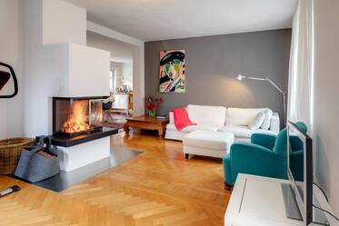 "Beautiful and cozy 2-room-flat in Munich-Nymphenburg; near U-Bahn line U1 ""Gern"""