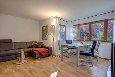 Beautifully furnished 2- apartment with garden 	  München Waldperlach