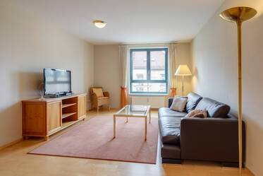 High-quality furnished 2-room apartment in the Museum quarter in Maxvorstadt
