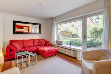 Lovely family town house (semidetached house) in prime location in Munich Schwabing