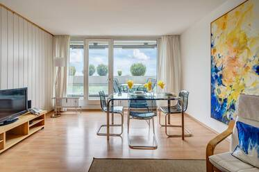 Apartment at the Olympiapark with nice view