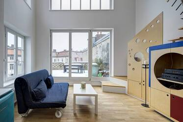3.5-room roof-terrace apartment in Haidhausen near Pariser Platz