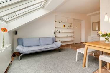 Lovely rooftop-apartment with washer dryer and WIFI