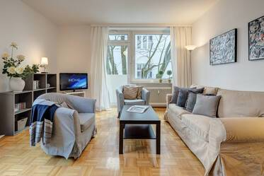 Bright apartment, prime location Schwabing
