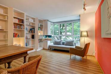 Prime location at the Viktualienmarkt and Gärtnerplatz: Beautifully furnished 2-room apartment