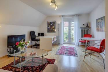 Bright and cozy 2-room apartment in Munich-Laim