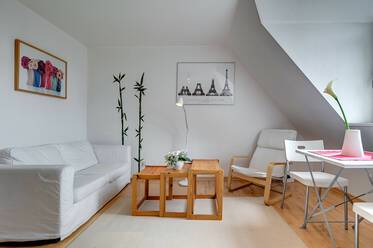 Charming attic 1.5-room apartment