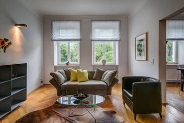 Elegant, stylish 3-room apartment near the Isar