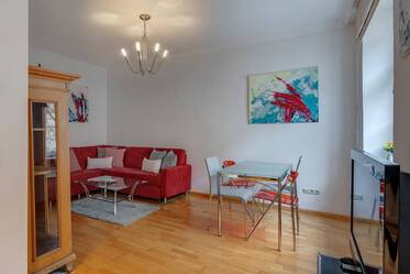Nicely furnished 2-room apartment in Munich Au-Giesing