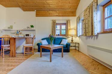 Furnished apartment in Pullach in the southern outskirts of Munich - 11 minutes from the S-Bahn S7