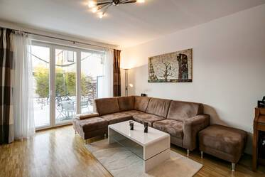 Nicely furnished 3-room apartment in Munich Schwabing