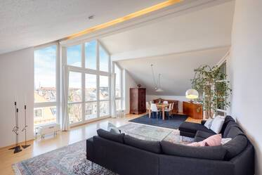 Luxuriously furnished apartment in Neuhausen