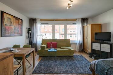 Central Neuhausen - Nicely furnished 1-room studio in good location