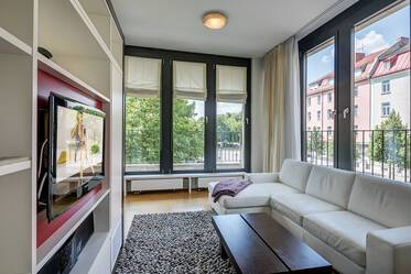 Exclusive 3-room apartment with balcony