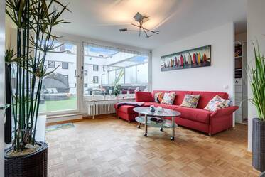 1-room attic apartment with roof terrace in Munich-Milbertshofen