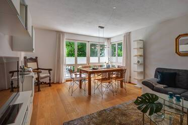 Beautifully furnished 3-room apartment in Munich Solln