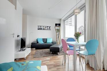 Very beautiful, furnished single apartment in Munich Mossach, incl Internet| parking available