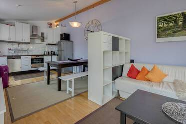 Good residential area in Au-Giesing, near Isar: 3.5-room maisonette apartment with unique style