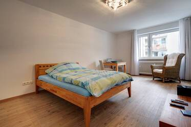 Nicely furnished 1-room apartment, close to Max-Weber-Platz in Munich-Haidhausen