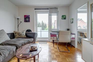 Very quiet 1-room apartment with WLAN in good location Munich-Milbertshofen