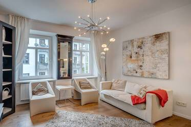 Luxury apartment in the Glockenbachviertel